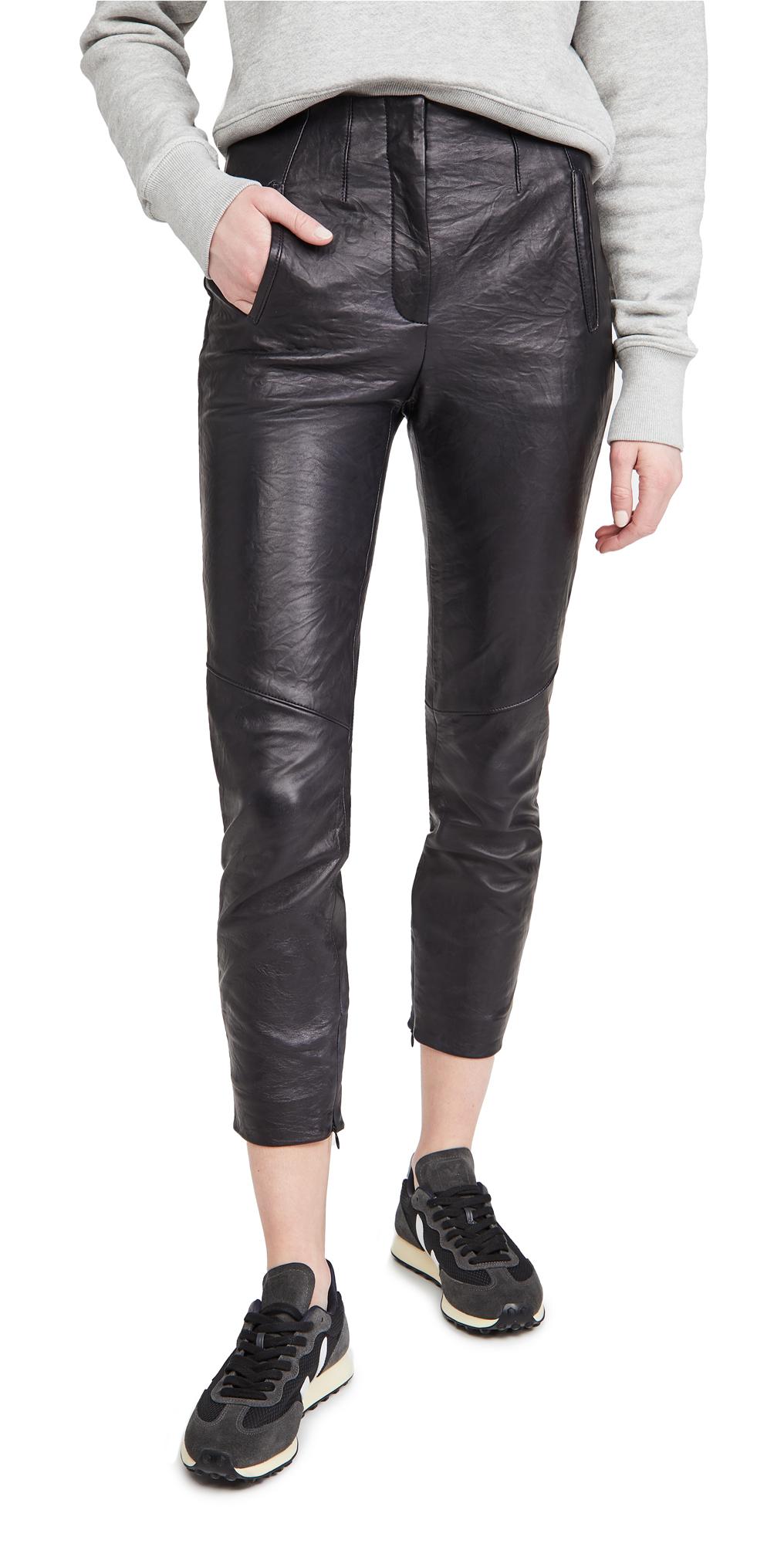 Veronica Beard Sethe Leather Pants