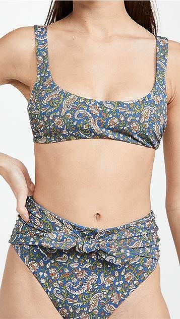 Veronica Beard Celeste Bikini Top