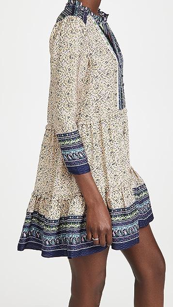 Veronica Beard Lumi 抽象几何印花连衣裙