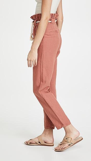Veronica Beard Karter 裥褶中长裤
