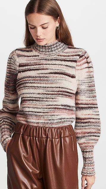Veronica Beard Alston Alpaca Sweater