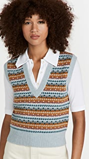 Veronica Beard Helenka Sweater Vest