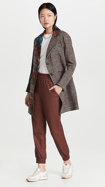 Veronica Beard India Patchwork Dickey Coat