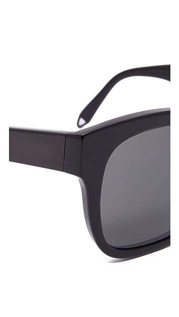 Victoria Beckham Audrey Visor Sunglasses