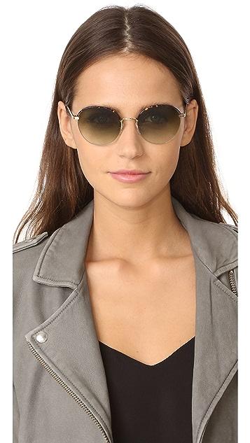 Victoria Beckham Windsor Round Sunglasses