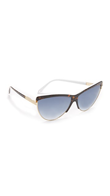 Victoria Beckham Sonnenbrille Combination Cat Gr. One Size aInqHfMR