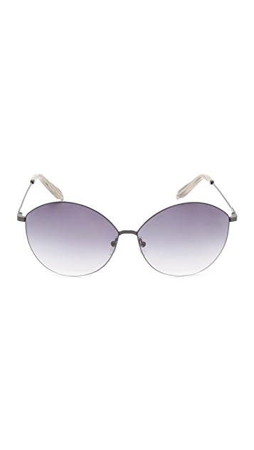 Victoria Beckham Feather Kitten Sunglasses