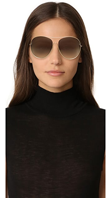 Loop Round aviator sunglasses Victoria Beckham 995ljCA