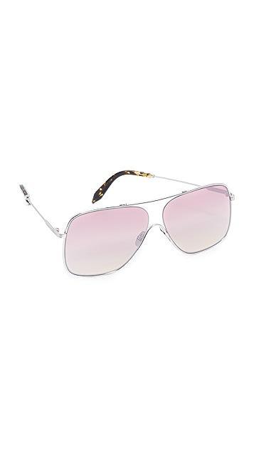 Victoria Beckham Loop Navigator Sunglasses