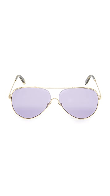 Victoria Beckham Loop Aviator Sunglasses