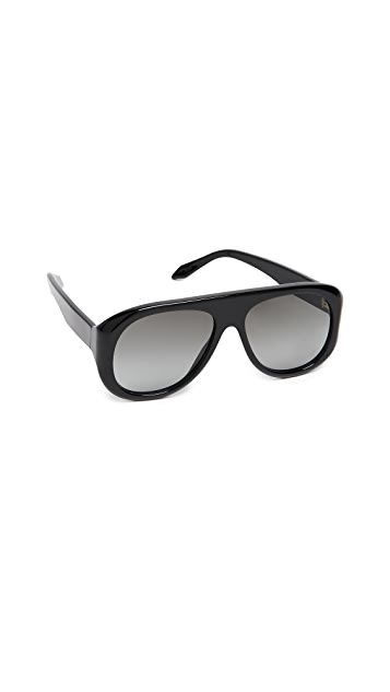 Victoria Beckham Aviator Power Frame Sunglasses