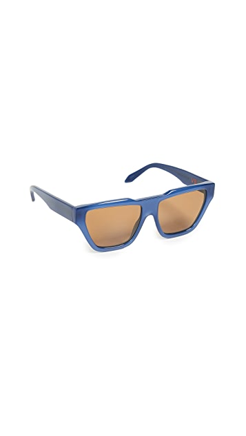 Victoria Beckham Square Cat Sunglasses