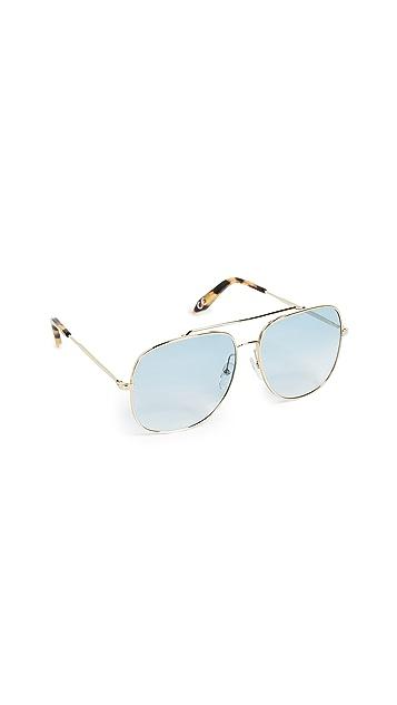 Victoria Beckham Power Frame - Metal Navigator Sunglasses