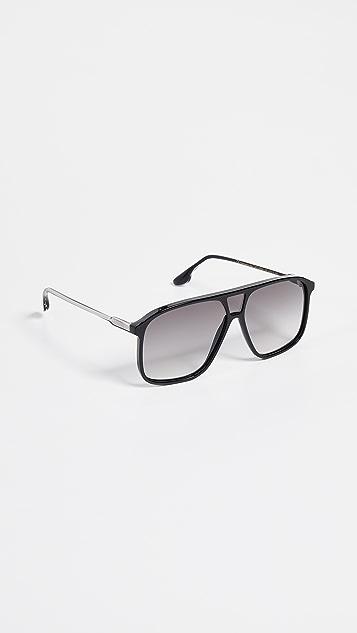 Victoria Beckham Three Lens Navigator Sunglasses