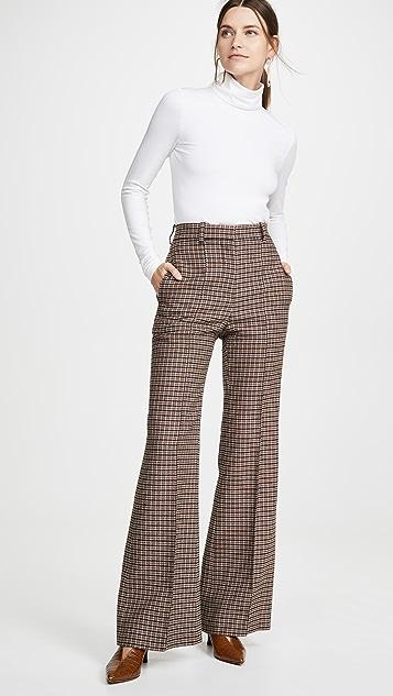 Victoria Beckham Широкие брюки с высокой талией