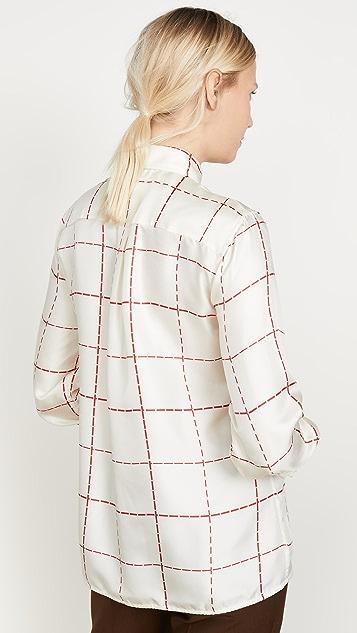 Victoria Beckham 70's Collar Shirt
