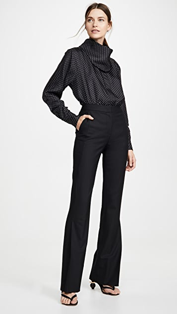 Victoria Beckham Свободная рубашка в мужском стиле