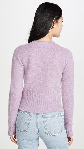 Victoria Beckham 无缝圆领毛衣