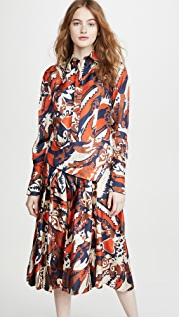 Victoria Beckham 褶皱衬衣连衣裙
