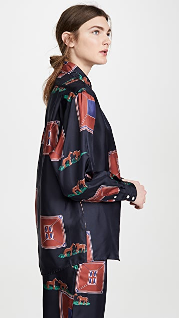 Victoria Beckham Свободная блуза