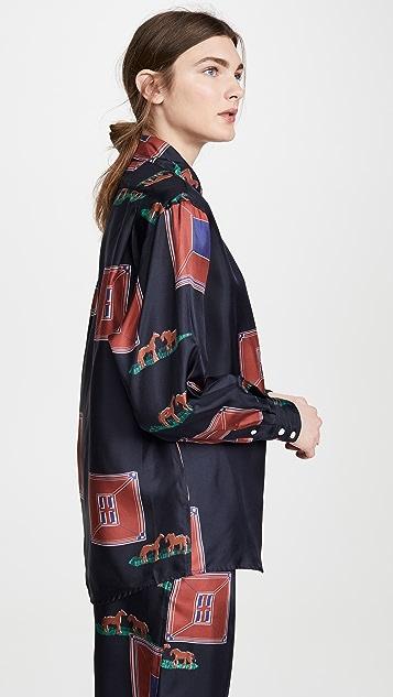 Victoria Beckham Oversized Blouse