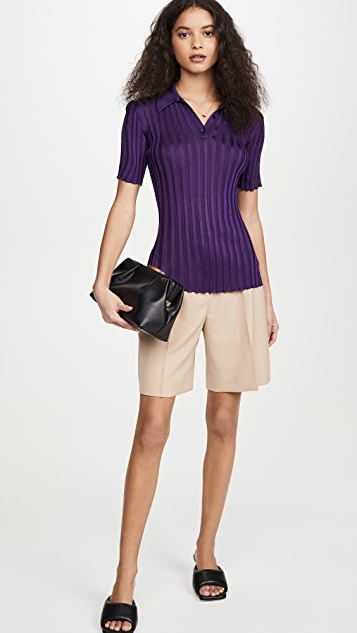 Victoria Beckham Slim Fit Polo