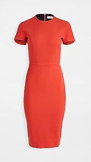 Victoria Beckham T-Shirt Fitted Dress