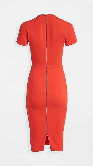 Victoria Beckham T 恤合身连衣裙