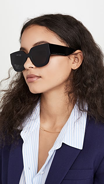 Victoria Beckham Classic Logo Sunglasses