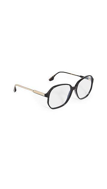 Victoria Beckham 超大方形醋酸酯眼镜