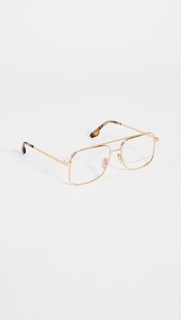 Victoria Beckham 方形飞行员眼镜