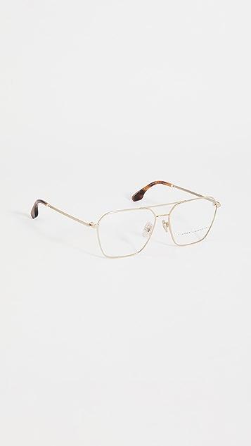 Victoria Beckham 斜角飞行员眼镜