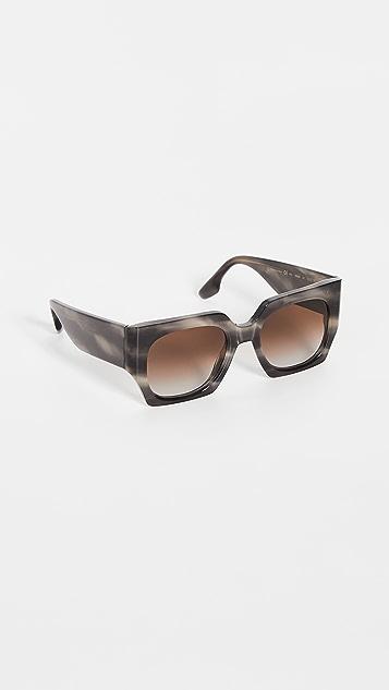 Victoria Beckham 经典徽标太阳镜