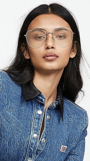 Victoria Beckham 金属圆框眼镜