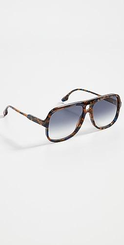 Victoria Beckham - Guilloche Sunglasses