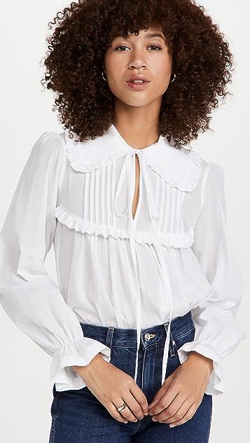 Victoria Beckham 褶皱细节女衫