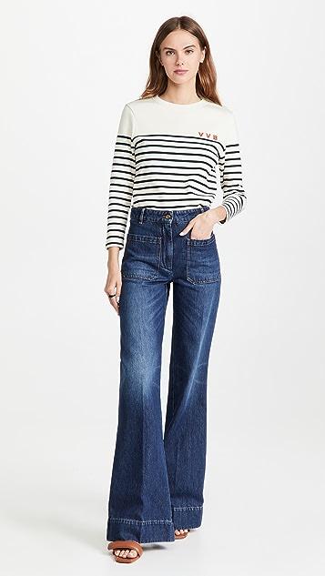 Victoria Beckham Alina Jeans