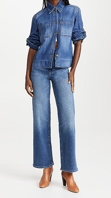 Victoria Beckham 修身牛仔布衬衫