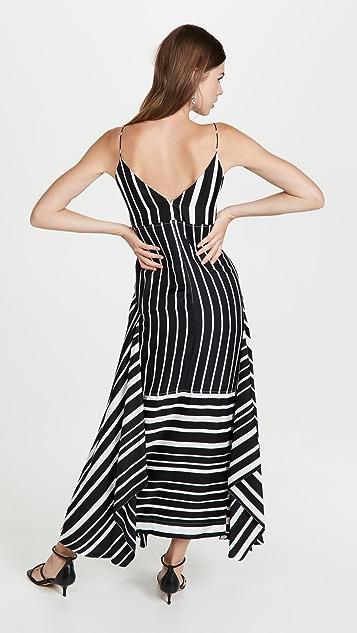 Victoria Beckham Pleat Detail Cami Dress