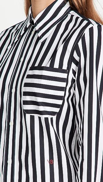 Victoria Beckham 尖领衬衫
