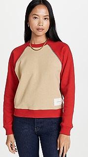 Victoria Beckham Colorblock Sweatshirt