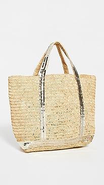 바네사 브루노 카바스백 미디움 Vanessa Bruno Medium Cabas Bag,Gold