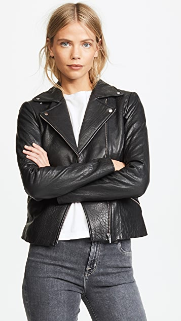 VEDA Dallas Leather Jacket