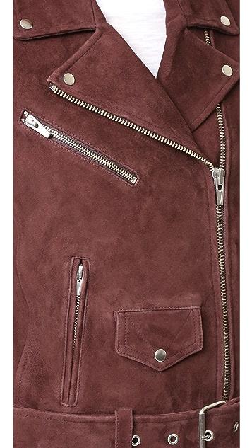 VEDA Jayne Suede Classic Jacket