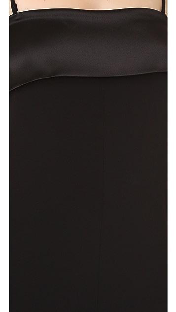 VEDA Black Tie Jumpsuit