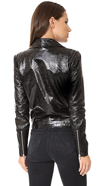 VEDA Jayne Glossy Jacket