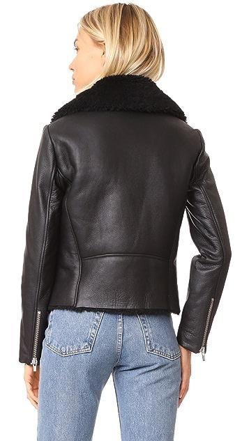 VEDA Noble Shearling Jacket