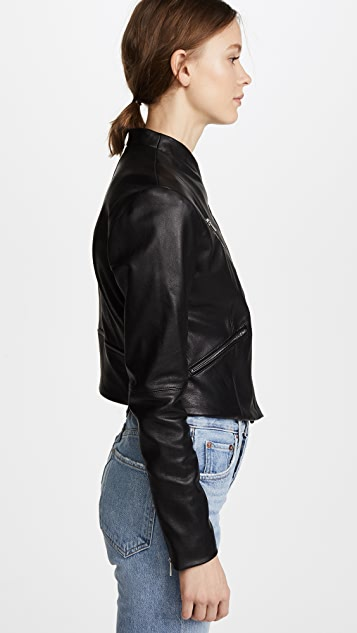 VEDA Jimmy Leather Jacket