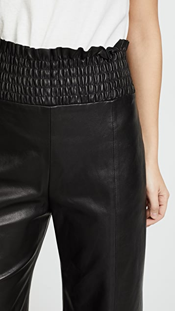 VEDA Conch Leather Pants