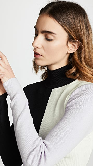 Veda Graphic Turtleneck